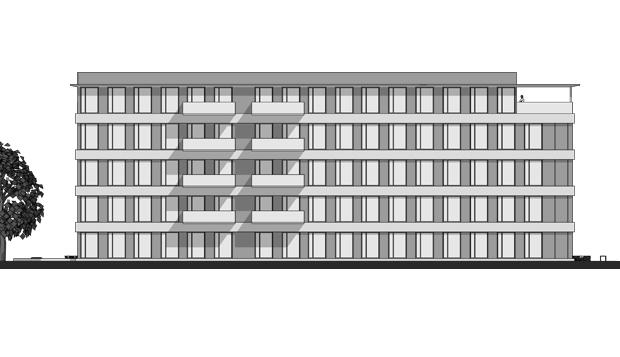 Haus WiBa - Güterbahnhof Freiburg